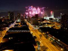 Fireworks Windsor/Detroit 2011