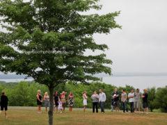 carla + corey's outdoor wedding