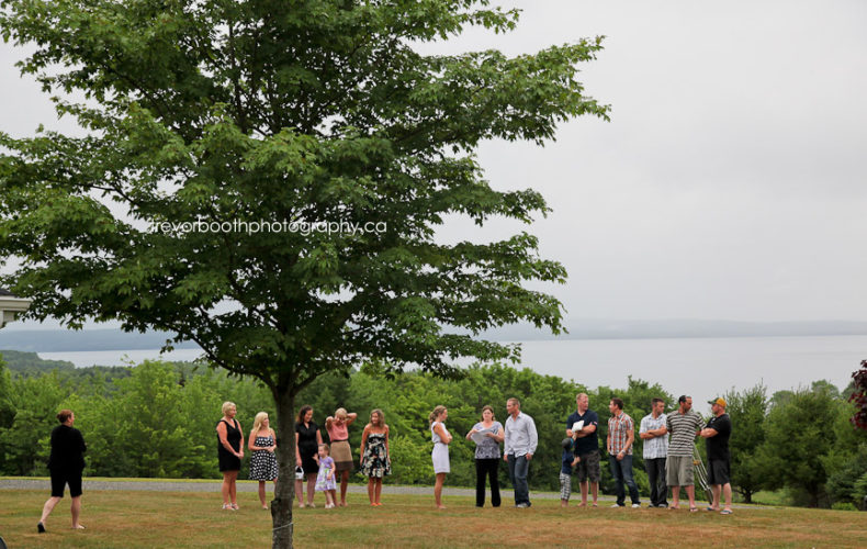 carla + corey's outdoor wedding